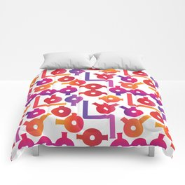 Chemistry Glass simple pattern #2 Comforters