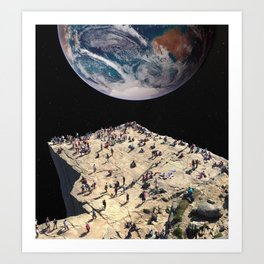 The Overview Effect Art Print