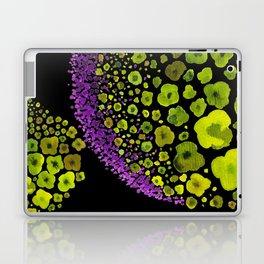 Paths of Color [green & purple] Laptop & iPad Skin