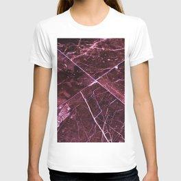 Amethyst Granite Tiles T-shirt