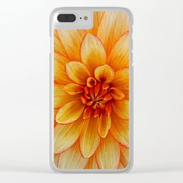 Yellow Sta Clear iPhone Case