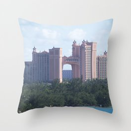 Bahamas Cruise Series 106 Throw Pillow