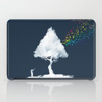 hunting iPad Cases featuring colourful hunting by Steven Toang