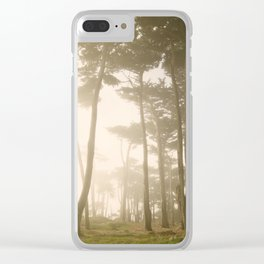 Fairy Forest, San Francisco Clear iPhone Case