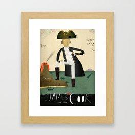 James Cook Framed Art Print