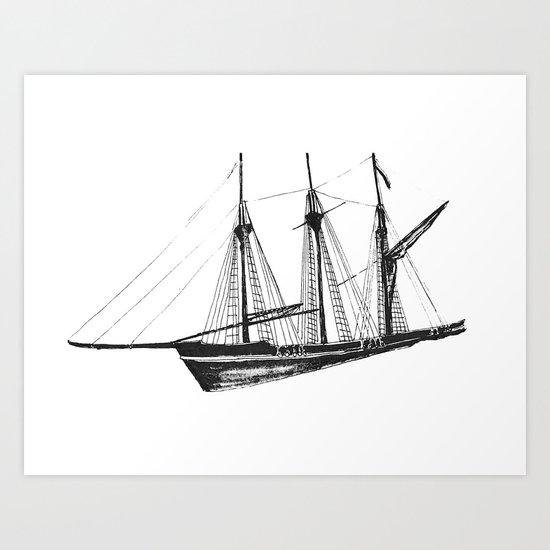 Ship Art Print