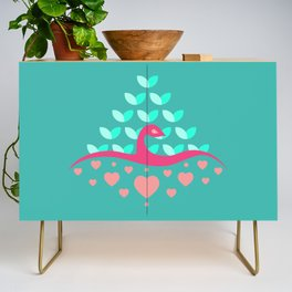 Be Beautiful - Be Colourful Peacock Credenza