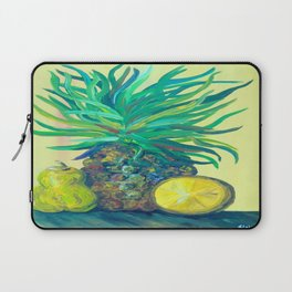 Pear and Pineapple Laptop Sleeve