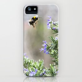 bumble bee flight iPhone Case