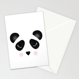 Little Panda Face Stationery Cards