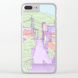 Another everyday place in Japan Clear iPhone Case