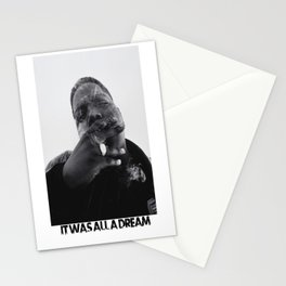 Notorious B.I.G print Stationery Cards