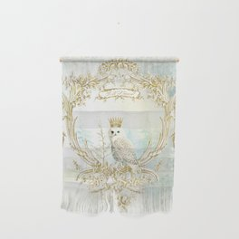 Owl Let it Snow Wall Hanging