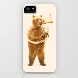 The Bear and his Helicon iPhone Case