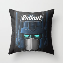 ROLLOUT Throw Pillow