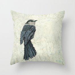 Nuthatch Creek II Throw Pillow