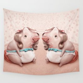 Pigly Twins Wall Tapestry