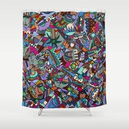 Colorfest Shower Curtain