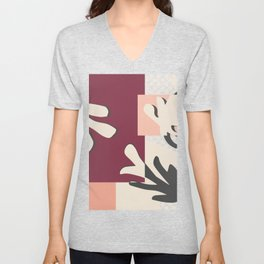 Finding Matisse pt.2 #society6 #abstract #art Unisex V-Neck