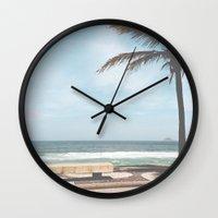 rio Wall Clocks featuring RIO by Studio Laura Campanella