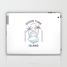 Good Time Island Laptop & iPad Skin