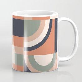 Earth Tones Blocks Coffee Mug