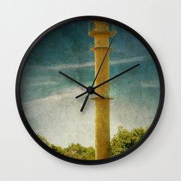 DE - Niedersachsen Old lighthouse in Schillig Wall Clock