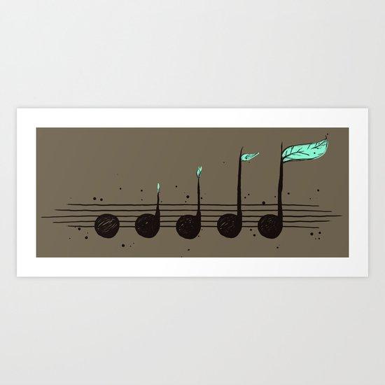 Biosphere Orchestra Art Print