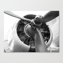 Douglas Dakota engine Canvas Print