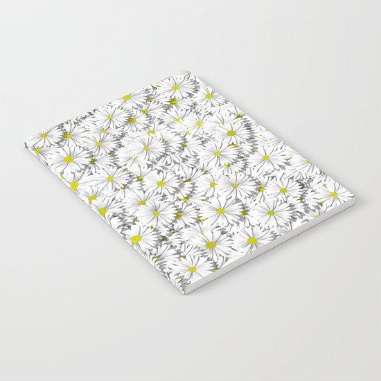 white daisy flowers Notebook