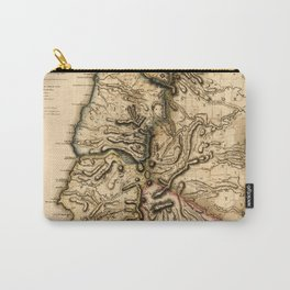 Map Of Grenada 1780 Carry-All Pouch