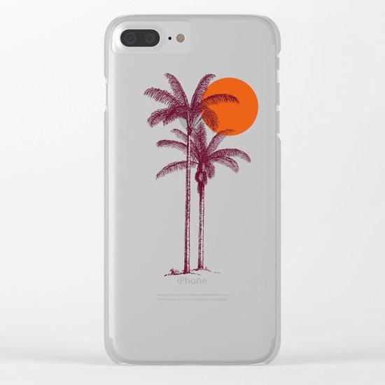 buenas tardes Clear iPhone Case