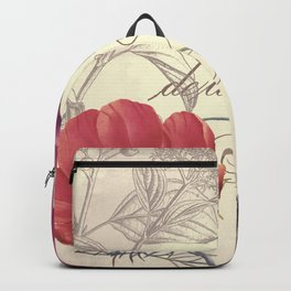 Petals of Paris I Backpack