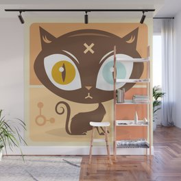 The cat did it... Wall Mural