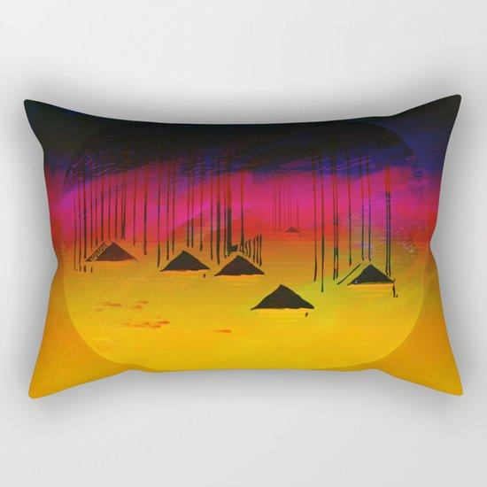 Pink Horizon / Archipelago 24-01-17 Rectangular Pillow