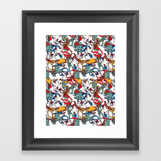 Warpaint Framed Art Print