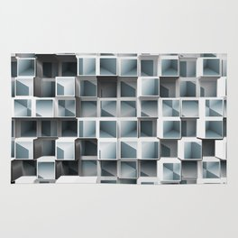 Cubes Within Cubes Rug