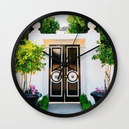 Palm Springs Door Wall Clock