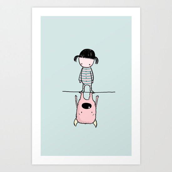 Martina/Anitram Art Print