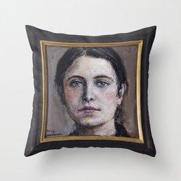 Santa Gemma Galgani II Throw Pillow