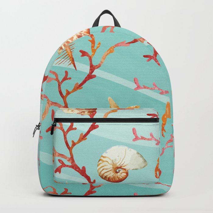 Marine Pattern 11 Backpack