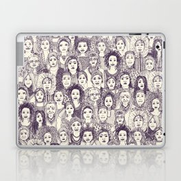 WOMEN OF THE WORLD PURPLE Laptop & iPad Skin
