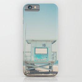 Lifeguard Tower #16 iPhone Case