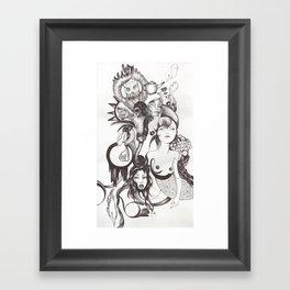 Imaginación Framed Art Print