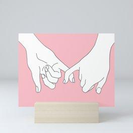 Pinky Promise 2 Mini Art Print