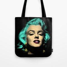 MARILYN BLUE Tote Bag