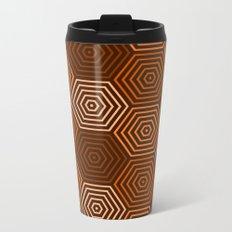 Op Art 36 Metal Travel Mug