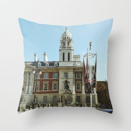 The Admiralty Extension, London Throw Pillow