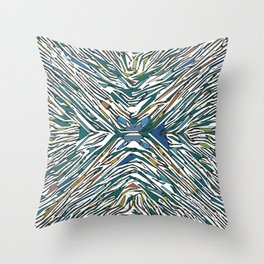 There's No Fixing This Throw Pillow