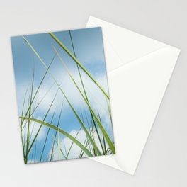 Dreaming in the grass pattern Stationery Cards